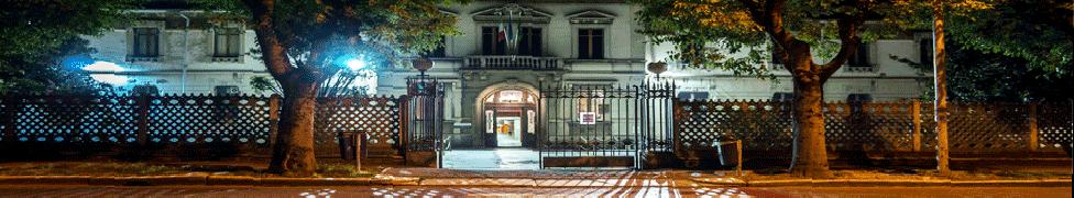 Ingresso Ospedale Civile di Vigevano